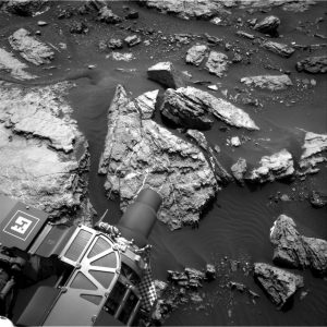Curiosity Navcam Right B image taken on Sol 1487, October 12, 2016. Credit: NASA/JPL-Caltech
