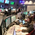 ESA's mission control in Darmstadt, Germany - ready for ExoMars 2016
