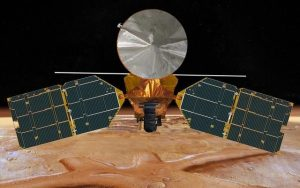 On patrol - NASA's Mars Reconnaissance Orbiter (MRO) can image the whereabouts and condition of ESA's Schiaparelli lander. Credit: NASA/JPL