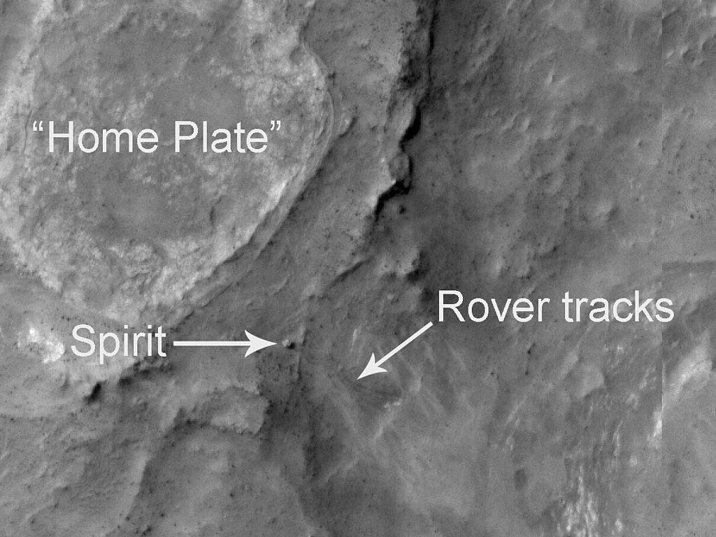 Did the Spirit Mars Rover Find a Biosignature of Past Life?