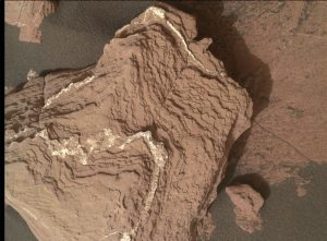 NASA's Mars rover Curiosity acquired this image using its Mars Hand Lens Imager (MAHLI), located on the turret at the end of the rover's robotic arm, on November 12, 2016, Sol 1518. Credit: NASA/JPL-Caltech/MSSS