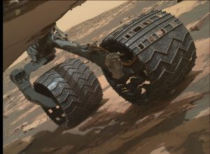Curiosity's Mars Hand Lens Imager (MAHLI), located on the turret at the end of the rover's robotic arm, took this image on November 6, 2016, Sol 1512. Credit: NASA/JPL-Caltech/MSSS