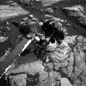 Curiosity Navcam Left B image taken on Sol 1511 November 5, 2016. Credit: NASA/JPL-Caltech