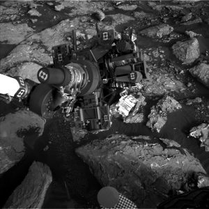 Curiosity Navcam Left B image taken on Sol 1535, November 30, 2016. Credit: NASA/JPL-Caltech