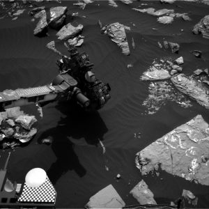Curiosity Navcam Right B image taken on Sol 1519 November 13, 2016. Credit: NASA/JPL-Caltech
