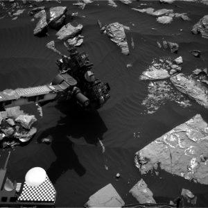 Curiosity Navcam Right B image taken on Sol 1519 November 13, 2016. Credit: NASA/JPL-Caltech