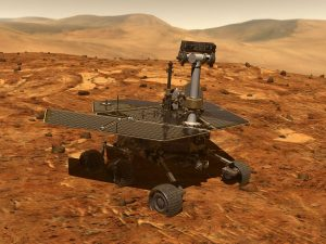 Spirit of exploration - NASA rover. Credit: NASA/JPL