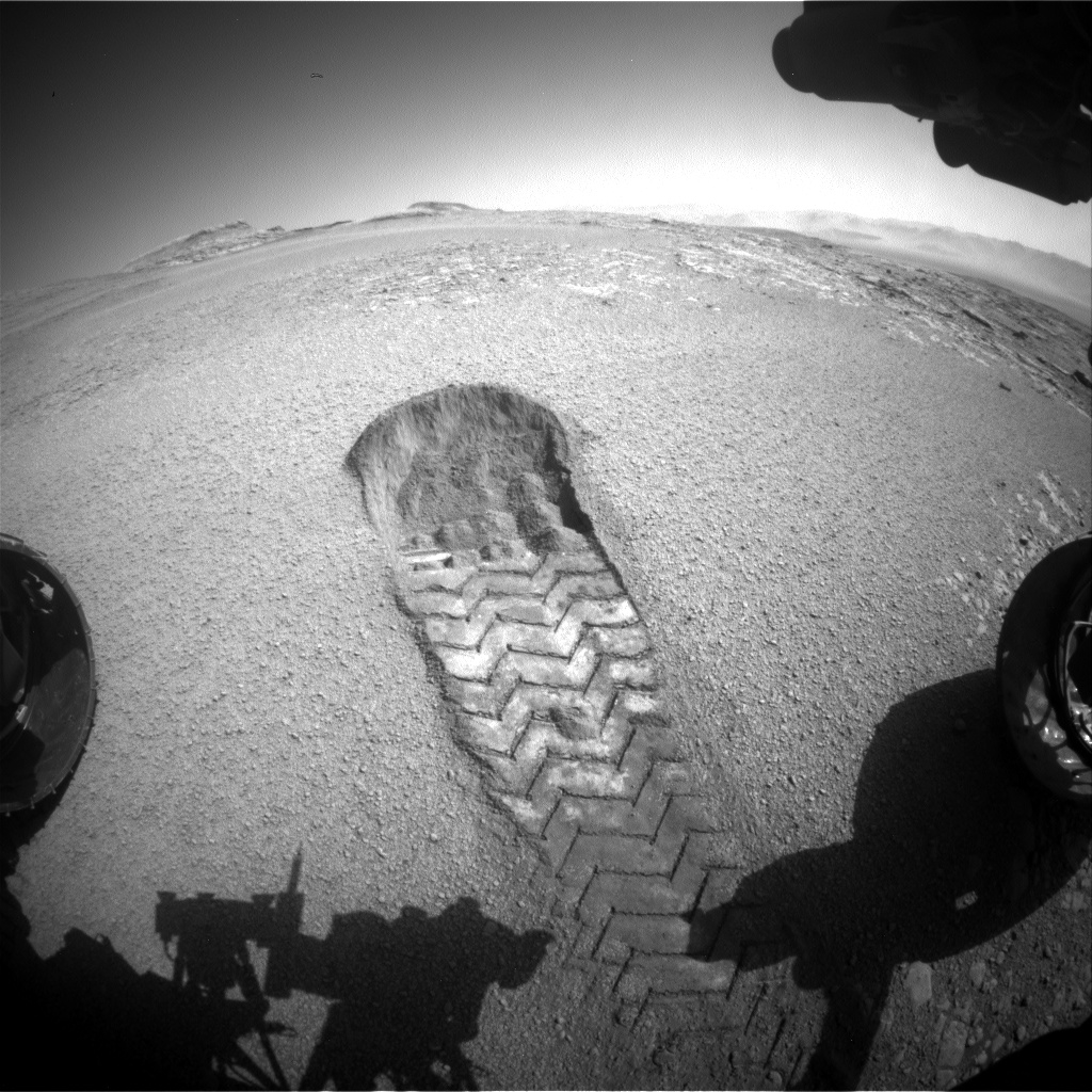 Curiosity Mars Rover: Last Views of Drill Sample, Sand ...